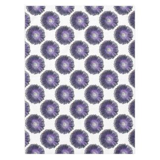 Mantel Gerbera púrpura de la lluvia