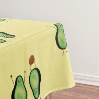 Mantel Hoyo verde divertido del handstand del aguacate