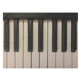 Mantel Impresión única de las llaves del piano