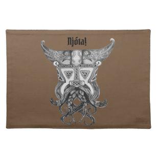 Mantel Individual Viking medieval - Njota Placemat
