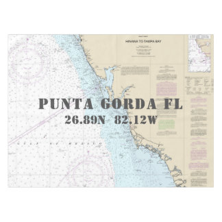 Mantel Latitud náutica Punta Gorda la Florida de la