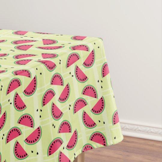 Mantel Melón del verano de la fruta de la tela escocesa