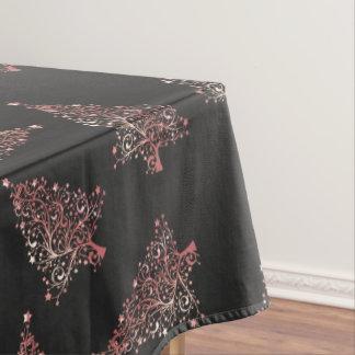 Mantel Modelo color de rosa moderno elegante del árbol de