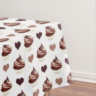 Mantel modelo de las magdalenas del chocolate