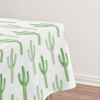 Mantel Modelo del cactus de la acuarela
