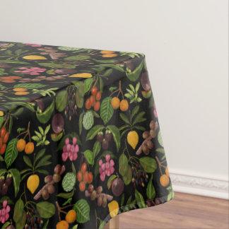 Mantel Modelo exótico colorido pintado a mano de la fruta