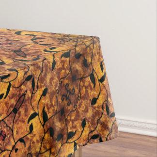 Mantel Modelo moderno de la silueta de las hojas de otoño