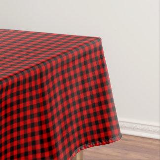 Mantel Modelo rojo tradicional de la tela escocesa del