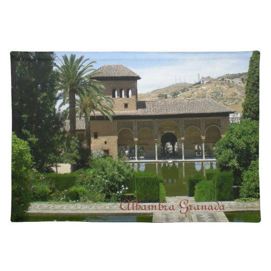 mantel paisaje Alhambra Granada