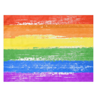 MANTEL PINTURA DE LA BANDERA DEL ARCO IRIS DE LGBT