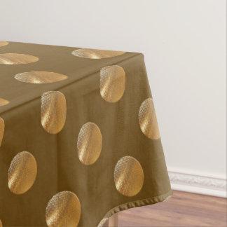 Mantel Puntos de oro de la polca