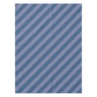 Mantel Rayas azules diagonales
