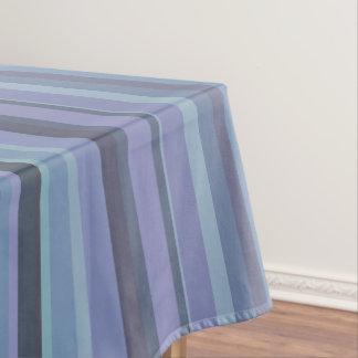 Mantel rayas horizontales Azul-grises