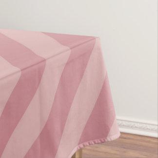 Mantel Rayas rosadas diagonales