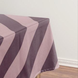 Mantel Rayas rosadas oscuras diagonales
