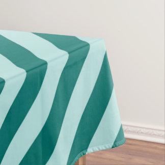 Mantel Rayas verde azuladas
