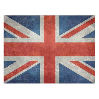 Mantel retro del estilo de la bandera británica