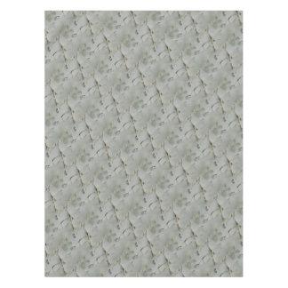 Mantel Un modelo abstracto de blanco y de gris