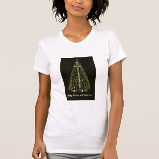 MANTENGA A CRISTO camiseta del NAVIDAD