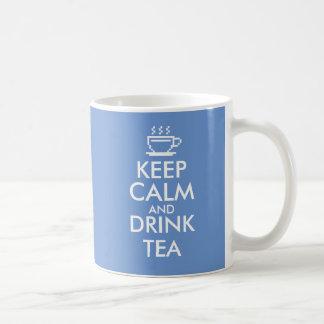 Mantenga color de encargo tranquilo y de la bebida taza de café
