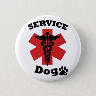 Mantenga el botón del perro