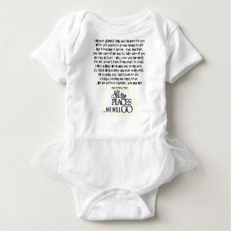 Mantenga el perro que el poema FNL DETRÁS Body Para Bebé