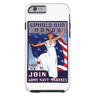 Mantenga nuestro honor funda resistente iPhone 6