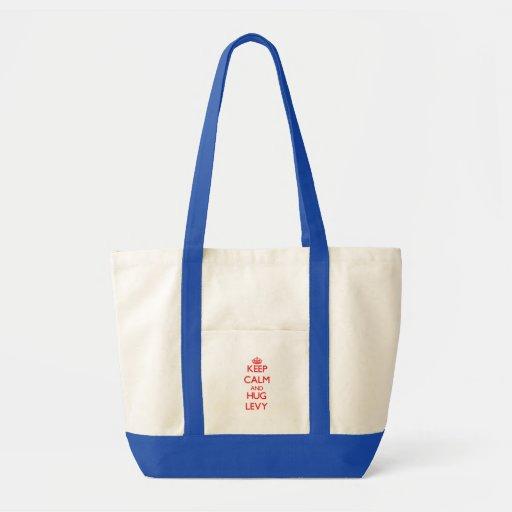 Mantenga recaudación tranquila y del abrazo bolsa de mano