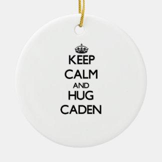 Mantenga tranquilo y abrazo Caden Adorno