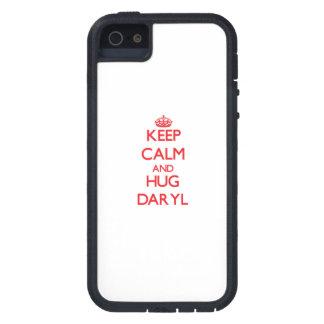 Mantenga tranquilo y ABRAZO Daryl iPhone 5 Fundas
