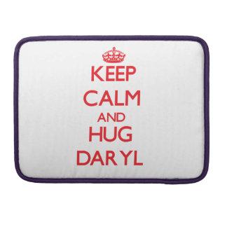 Mantenga tranquilo y ABRAZO Daryl Fundas Macbook Pro