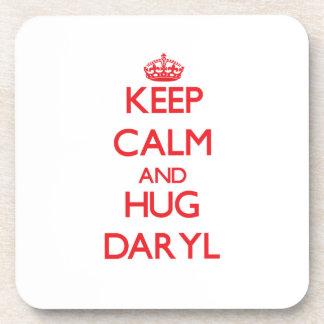 Mantenga tranquilo y ABRAZO Daryl Posavaso