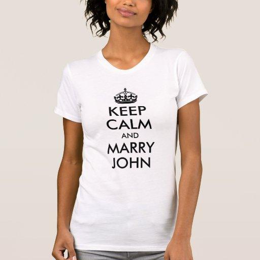 Mantenga tranquilo y case la camisa de Juan