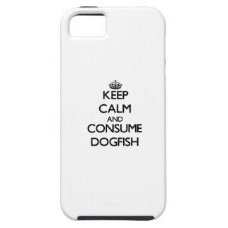 Mantenga tranquilo y consuma las lijas iPhone 5 carcasas