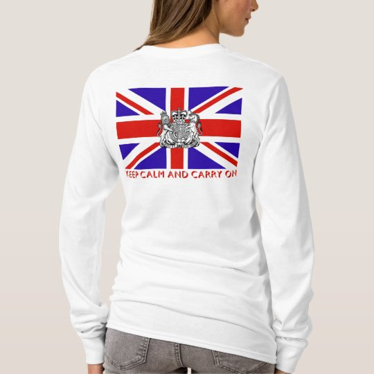 'Mantenga tranquilo y continúe Britain Camiseta