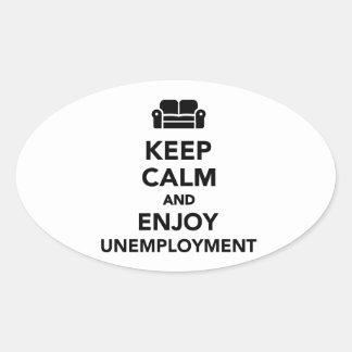 Mantenga tranquilo y disfrute del desempleo