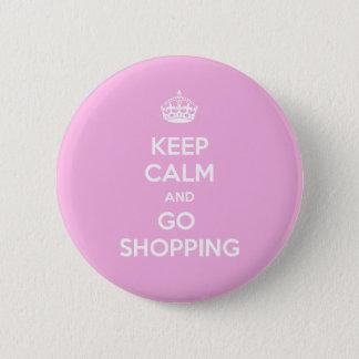 Mantenga tranquilo y vaya a hacer compras chapa redonda de 5 cm
