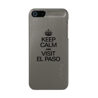 MANTENGA TRANQUILO Y VISITA EL PASO FUNDA PARA iPhone 5 INCIPIO FEATHER SHINE