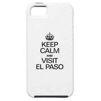 MANTENGA TRANQUILO Y VISITA EL PASO iPhone 5 Case-Mate CARCASAS