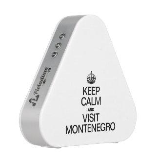 MANTENGA TRANQUILO Y VISITA MONTENEGRO ALTAVOZ BLUETOOTH