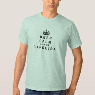 Mantenga tranquilo yo conocen Capoeira Camisas