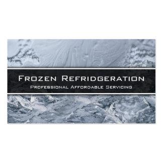 Mantenimiento de enfriamiento del profesional - tarjetas de visita