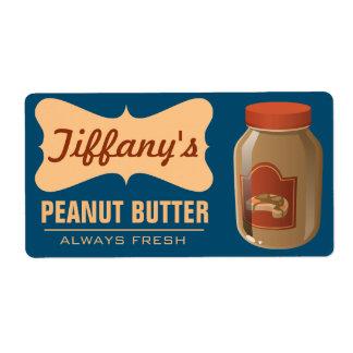 Mantequilla hecha a mano el | orgánica natural de etiqueta de envío