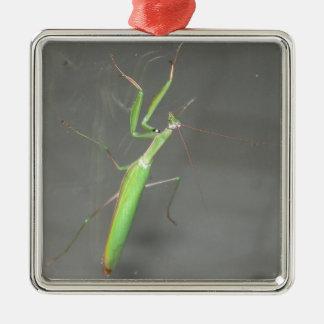 Mantis religiosa ornamento para arbol de navidad