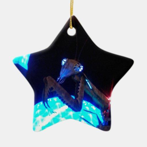 mantis religiosa del metal - 1.jpg adorno de navidad