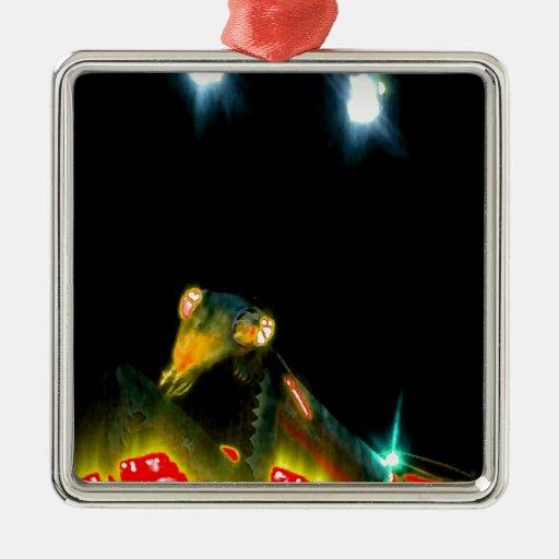 Mantis religiosa del metal - 2.jpg adorno de navidad