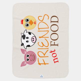 Mantita Para Bebé Amigos, no comida