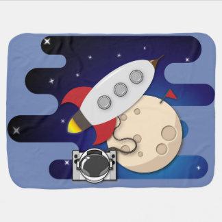 Mantita Para Bebé Aventuras del espacio