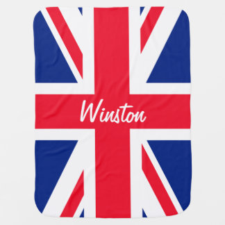 Mantita Para Bebé Bandera británica BRITÁNICA de Union Jack