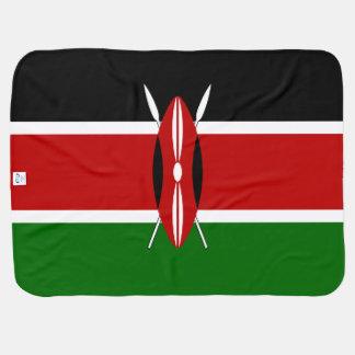 Mantita Para Bebé Bandera de Kenia